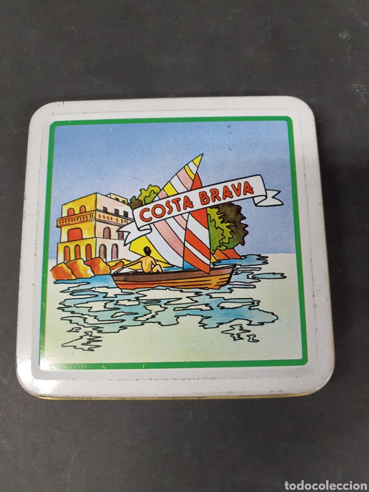 LATA PITILLERA PARA CIGARROS DE LA COSTA BRAVA AÑOS 80 (Coleccionismo - Objetos para Fumar - Otros)