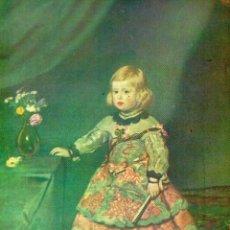 Coleccionismo: LÁMINA ESPASA - LA INFANTA MARGARITA TORRES POR VELAÁQUEZ. Lote 194203406