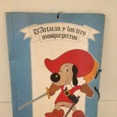 Coleccionismo: CARPETA DARTACAN Y LOS TRES MOSQUEPERROS 1981. Lote 194209601