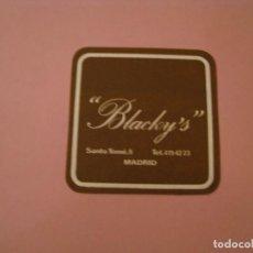 Coleccionismo: POSAVASOS BLACKY'S. MADRID.. Lote 194229683