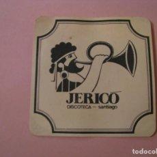 Coleccionismo: POSAVASOS DISCOTECA JERICÓ. SANTIAGO.. Lote 194230978
