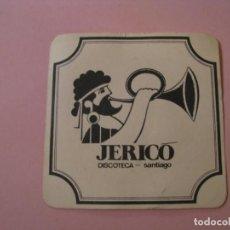 Coleccionismo: POSAVASOS DISCOTECA JERICÓ. SANTIAGO.. Lote 194231028