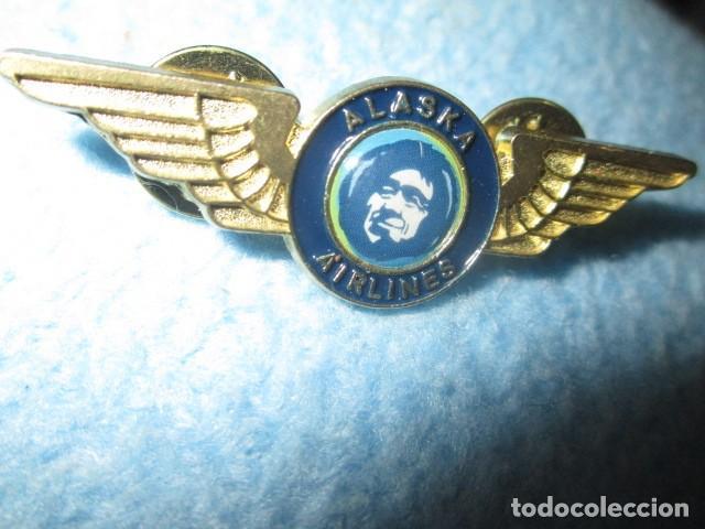 Coleccionismo: aviacion alaska airlines insignia pin medidas 5 cms - Foto 8 - 194237531