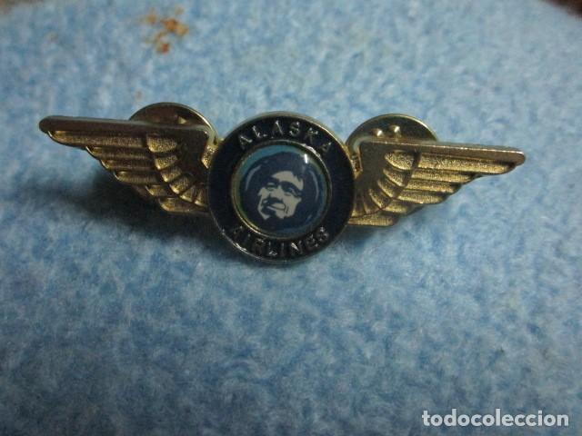 Coleccionismo: aviacion alaska airlines insignia pin medidas 5 cms - Foto 6 - 194237531