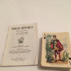 Coleccionismo: BARAJA HISTÓRICA DESCUBRIDORES Y COLONIZADORES DE AMERICA. Lote 194239315