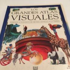 Coleccionismo: LOS GRANDES ATLAS VISUALES. Lote 194240552