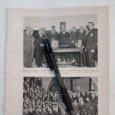 Coleccionismo: MADRID. COMISIÓN EN EL CONGRESO CON PRIMO DE RIVERA/ ALCALDES DEL ESTATUTO VASCO. 1931. Lote 194247771