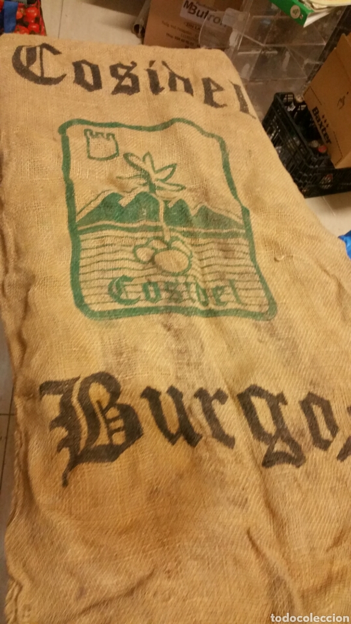 Coleccionismo: Saco de patatas cosido burgos - Foto 2 - 194248120