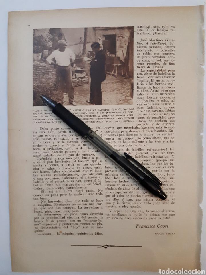 Coleccionismo: A QUIEN LE DEBIA SEVILLA, HACE CINCUENTA AÑOS, EL PAN QUE SE COMIA. 1931 - Foto 2 - 194251827