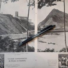 Coleccionismo: LA ANUAL CONMEMORACION DE ELCANO EN GUETARIA. 1931. Lote 194253156