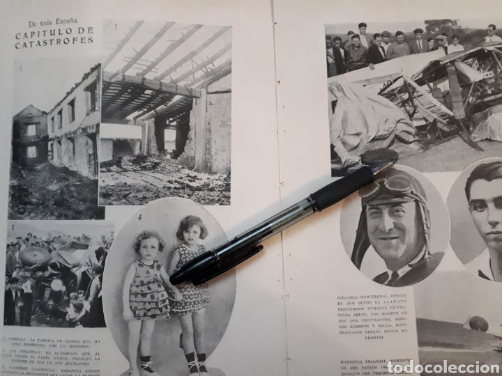 Coleccionismo: VALENCIA EN FIESTAS / De toda España CAPITILO DE CATASTROFES/EL ESTATUTO CATALAN. 1931 - Foto 2 - 194253393