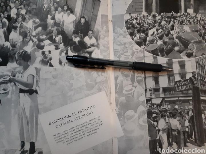 Coleccionismo: VALENCIA EN FIESTAS / De toda España CAPITILO DE CATASTROFES/EL ESTATUTO CATALAN. 1931 - Foto 3 - 194253393
