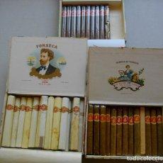 Coleccionismo: 3 CAJA DE PUROS HABANOS CUBA FLOR DE CANO Y FONS ( COSACOS Y PREFERIDOS) PRE -EMBARGO. Lote 194280341