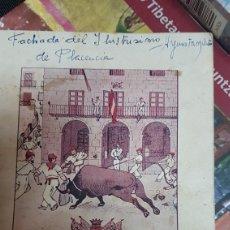 Coleccionismo: PROGRAMAS DE FIESTAS DE PLASENCIA. Lote 194285506