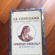 Coleccionismo: CHAPA. Lote 194290686