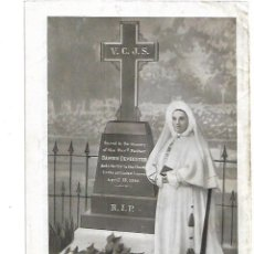 Coleccionismo: AÑO 1951 RECORTE PRENSA REVERENDA MADRE ZENAIDA LORIER TUMBA PADRE DAMIAN LOVAINA. Lote 194305650