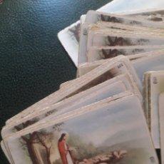 Coleccionismo: LOTE ESTAMPITAS RELIGIOSAS ANTIGUAS. Lote 194305761