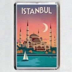 Coleccionismo: IMAN ACRÍLICO NEVERA - ESTAMBUL (TURQUIA). Lote 194338150