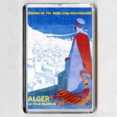 Coleccionismo: IMAN ACRÍLICO NEVERA - ARGELIA (ALGER). Lote 194338346