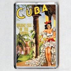 Coleccionismo: IMAN ACRÍLICO NEVERA - CUBA. Lote 194338408