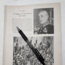 Coleccionismo: BARCELONA. EXCESOS LAMENTABLES / NOTAS NORTEÑAS ( CASTRO URDIALES, AMOREBIETA, BARACALDO) 1931. Lote 194349390