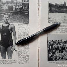 Coleccionismo: NOTAS DE LA SEMANA DEPORTIVA. 1931. Lote 194393123
