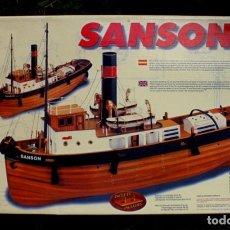 Coleccionismo: MAQUETA BARCO SANSON. Lote 194400485