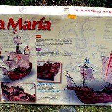 Coleccionismo: MAQUETA VELERO SANTA MARÍA. Lote 194400562