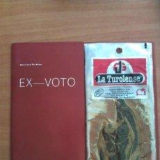 Coleccionismo: 1998 EX - VOTO - BIGAS LUNA & TITO MUÑOZ - UNDERGROUND / VANGUARDIA. Lote 194407597