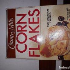 Coleccionismo: ANTIGUA CAJA ENVOLTORIO DE CEREALES CORN FLAKES AÑO 1994 VACIA. Lote 194511080