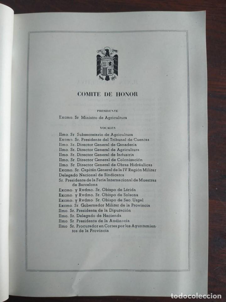 Coleccionismo: Feria de Otoño y XXV aniversario fundación de la confederación hidrográfica del Ebro en Lleida 1951 - Foto 9 - 194513031
