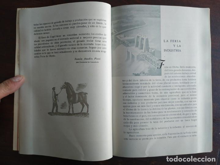 Coleccionismo: Feria de Otoño y XXV aniversario fundación de la confederación hidrográfica del Ebro en Lleida 1951 - Foto 14 - 194513031