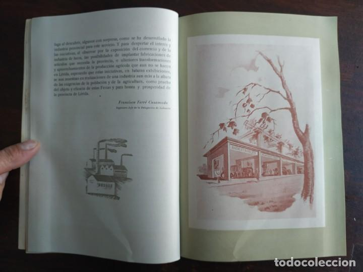 Coleccionismo: Feria de Otoño y XXV aniversario fundación de la confederación hidrográfica del Ebro en Lleida 1951 - Foto 15 - 194513031