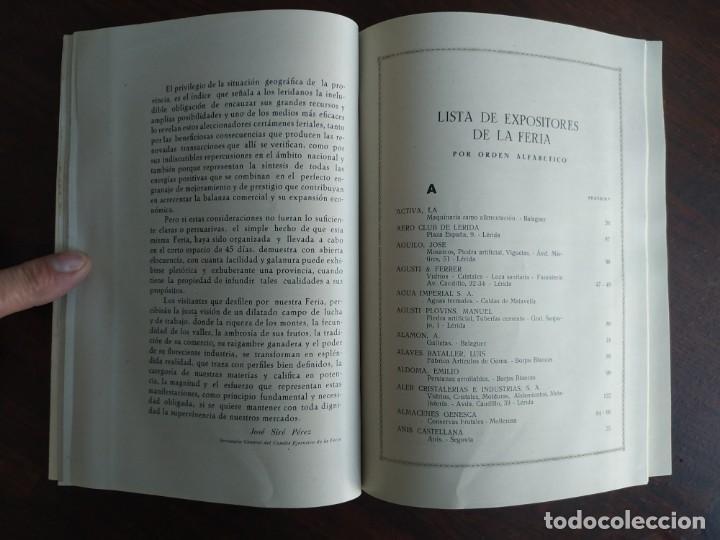 Coleccionismo: Feria de Otoño y XXV aniversario fundación de la confederación hidrográfica del Ebro en Lleida 1951 - Foto 19 - 194513031