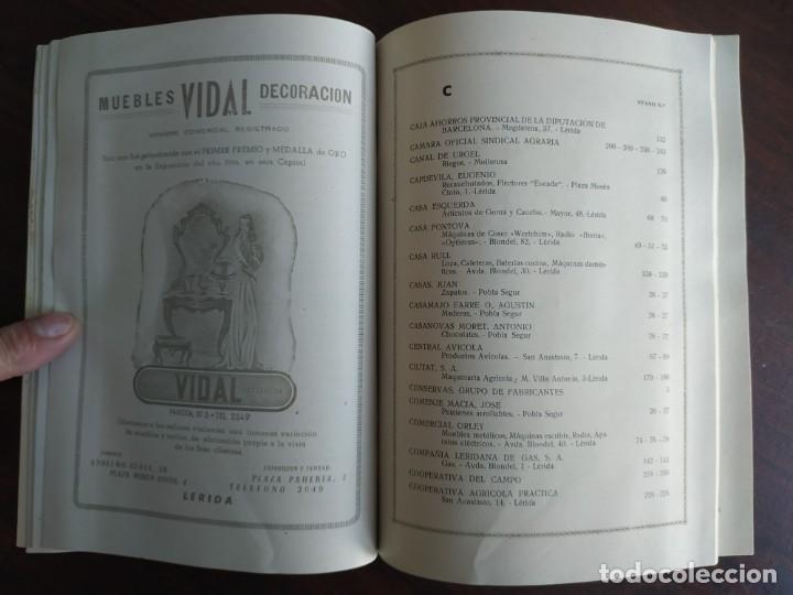 Coleccionismo: Feria de Otoño y XXV aniversario fundación de la confederación hidrográfica del Ebro en Lleida 1951 - Foto 20 - 194513031