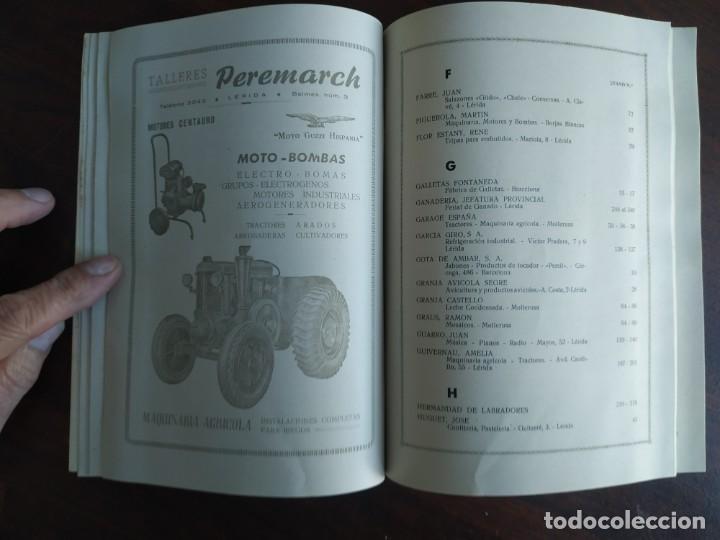 Coleccionismo: Feria de Otoño y XXV aniversario fundación de la confederación hidrográfica del Ebro en Lleida 1951 - Foto 21 - 194513031