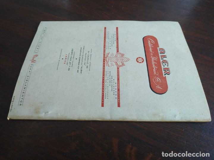Coleccionismo: Feria de Otoño y XXV aniversario fundación de la confederación hidrográfica del Ebro en Lleida 1951 - Foto 22 - 194513031