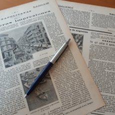 Coleccionismo: NAPOLITANAS III (1). PRIMERAS IMPRESIONES / MINEROS ROMANOS EN ESPAÑA. OBRAS GIGANTESCAS. 1906. Lote 194587482