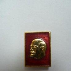 Coleccionismo: INSIGNIA RUSA DE ALFILER. LENIN (2,5 X 2 CM). Lote 194588086