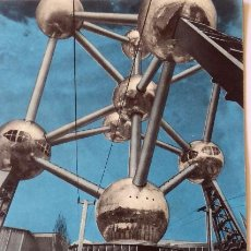 Coleccionismo: PR-1688. ATOMIUM. TRIPTICO PANORAMA ATOMIUM. EXPOSICIÓN UNIVERSAL BRUSELAS 1958. Lote 194613513