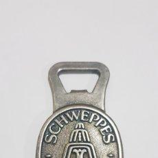 Coleccionismo: ABREBOTELLAS SCHWEPPES SINCE 1783. Lote 194634518