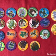Coleccionismo: LOTE 21 TAZOS YU GI OH Y DUEL TAZOS. Lote 194698432