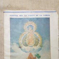 Coleccionismo: CANCIONERO VIRGEN DE LA CABEZA ANDUJAR AÑO JUBILAR 1959 1960. Lote 194734747