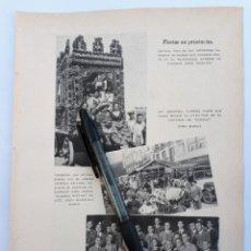 Coleccionismo: FIESTAS EN PROVINCIAS (SEVILLA, SAN SEBASTIÁN, VALENCA) / NOTAS DEL EXTRANJERO. 1931. Lote 194754870