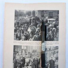 Coleccionismo: MURCIA. COMITIVA FUNEBRE DEL CONDE DE FLORIDABLANCA. PONTEVEDRA. / NOTAS DE TARRAGONA. 1931. Lote 194755428