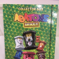 Coleccionismo: ALBUM ARCHIVADOR Y ABATONS ANIMALES. Lote 194764848