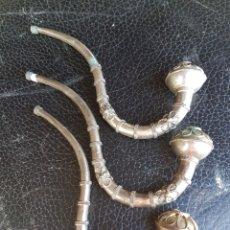 Coleccionismo: LOTE DE 3 PIPAS DE FUMAR. Lote 194766402