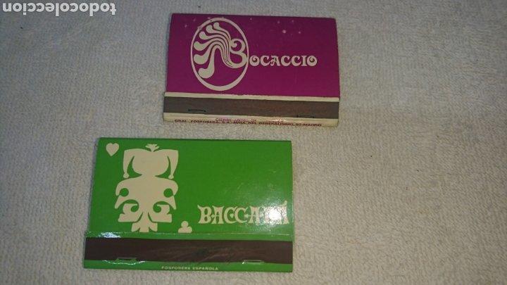 CERILLAS BOCACCIO Y BACCARÁ (Coleccionismo - Objetos para Fumar - Otros)