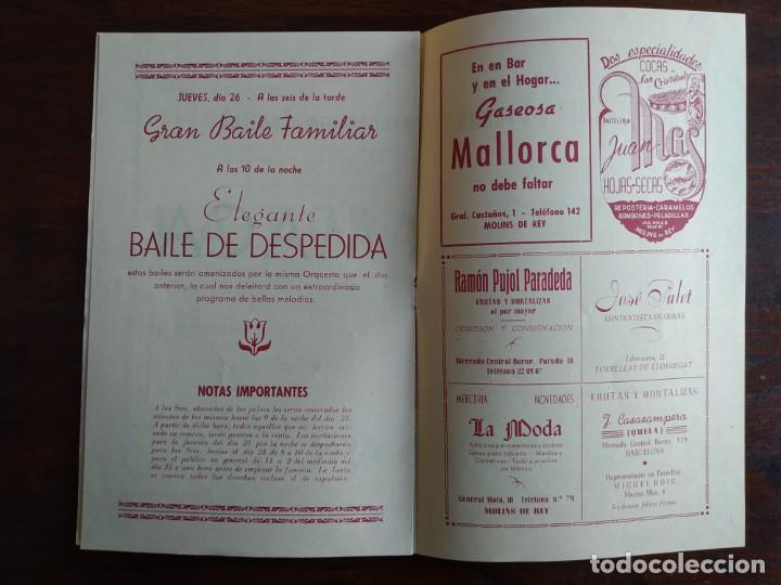 Coleccionismo: Festa Major Aplec de Sant Pau 1956 Ateneu Torrellenc, de Torrelles de Llobregat. La pepa Maca - Foto 4 - 194896575