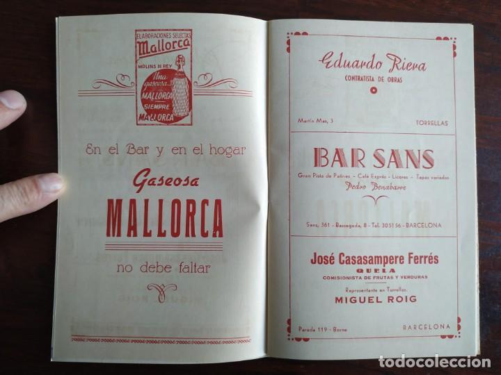 Coleccionismo: Festa Major Aplec de Sant Pau 1959 Ateneu Torrellenc Torrelles de Llobregat Amb l lira de San Celoni - Foto 3 - 194897513